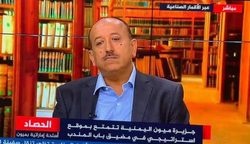 النائب علي المعمري يفتح النار على حكومة معين عبدالملك ويتهمها بتمييع قضية جزيرة ميون