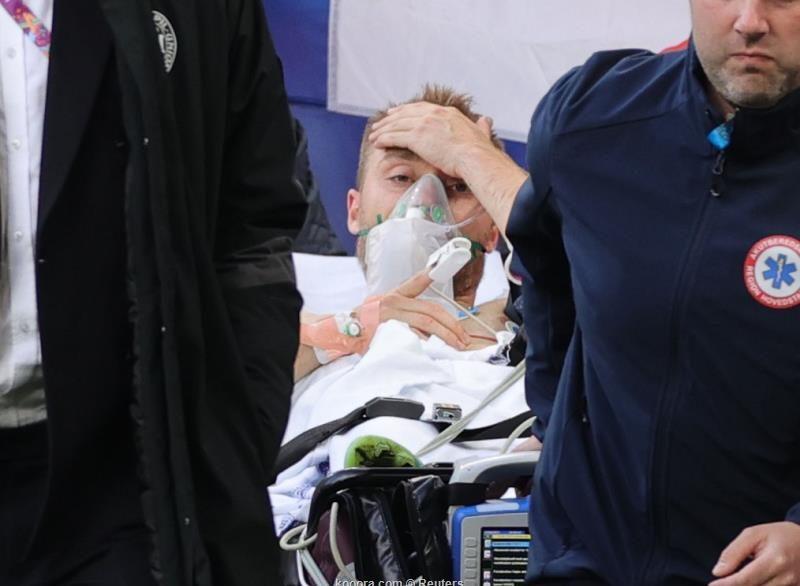 بعد انباء عن وفاته.. شاهد اول ظهور للاعب إريكسن واليويفا يوضح حالته الصحية