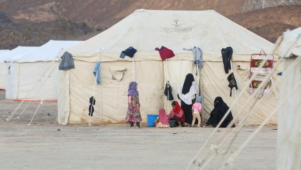 الهجرة الدولية تعلن نزوح أكثر من 2000 أسرة في مأرب