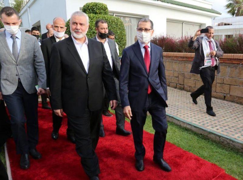 """رئيس حماس """"إسماعيل هنية"""" من المغرب: أمامنا مهام كبيرة بعد الانتصار الأخير في غزة"""