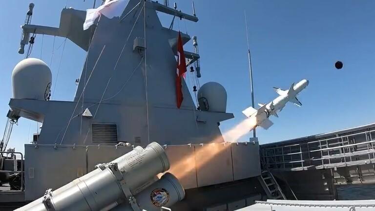 تركيا تعلن نجاح اختبار صاروخ محلي مضاد للسفن