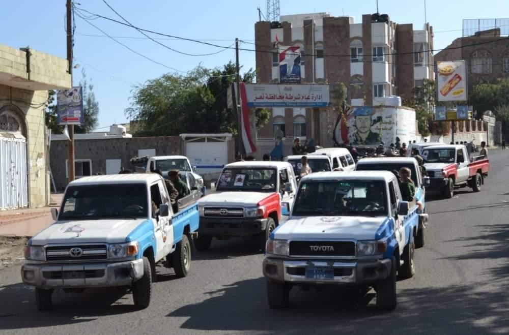 إصابة 4 من أفراد الحملة الأمنية بتعز في اشتباكات مع عصابة مسلحة