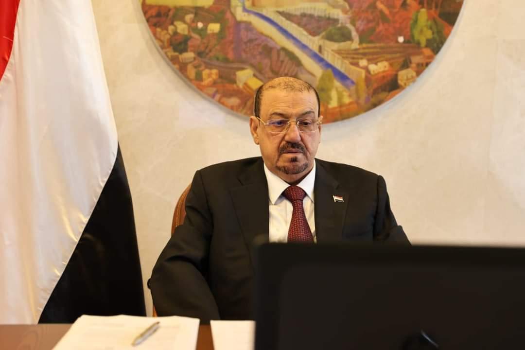 شدد على ضرورة مواجهة التحديات التي تهدد الأمن القومي العربي.. البركاني: اليمن تتعرض لرياح غادرة