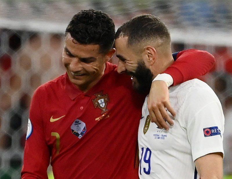 رونالدو وبنزيما يقودان البرتغال وفرنسا للتأهل في يورو 2020