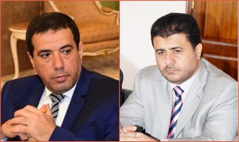 الشيخ العيسي يعزي ناطق الحكومة راجح بادي في وفاة والدته