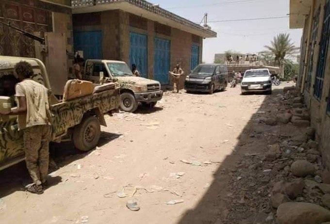 قوات الجيش والأمن تتمكن من إخماد تمرد مسلح قادته عناصري تخريبية في أبين