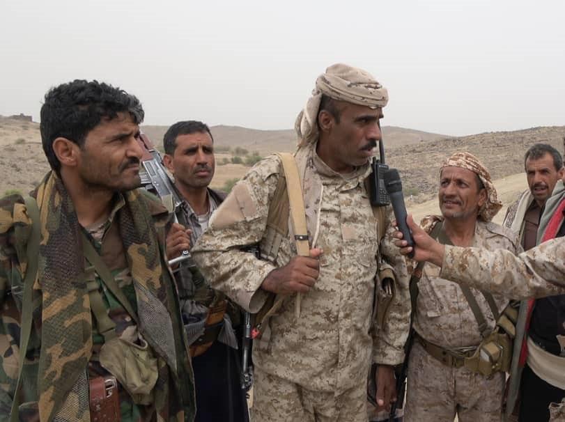 مصدر عسكري يعلن استكمال تأمين المواقع  المحررة في مديرية رحبة بمأرب