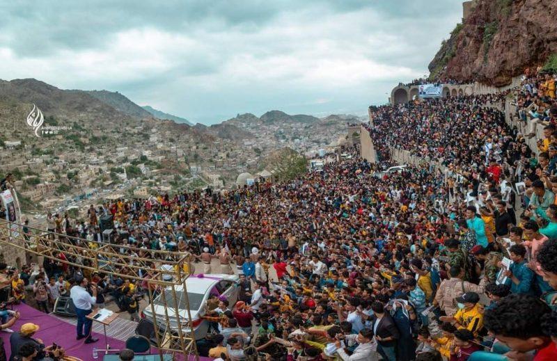 تعز تختتم مهرجان قلعة القاهرة الثقافي الرابع غدا السبت في ميدان الشهداء