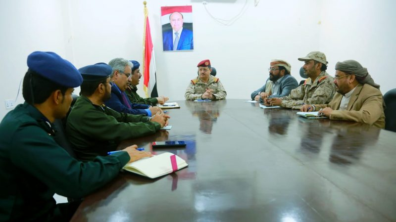 إجتماع للجنة الأمنية العليا يناقش تعزيز التنسيق والتعاون والتكامل بين الجيش والأمن