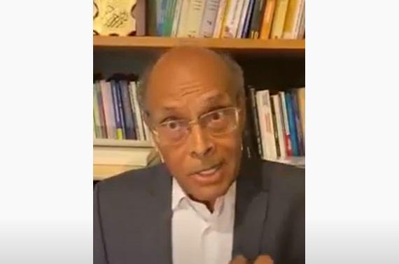 فيديو.. الرئيس الأسبق منصف المرزوقي: ما يحدث في تونس انقلاب وادعو الجميع للتصدي له