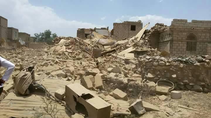 مليشيا الحوثي تفجر منزل مواطن في مأرب