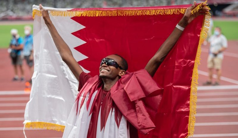 معتز برشم يمنح قطر ميدالية ذهبية في الوثب العالي بأولمبياد طوكيو 2020