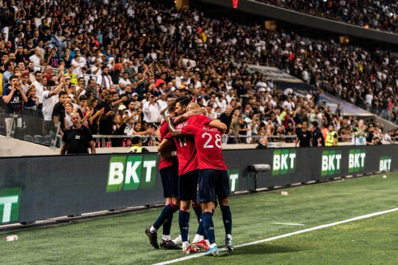ليل يهزم باريس سان جيرمان ويتوج ببطولة كأس السوبر الفرنسي
