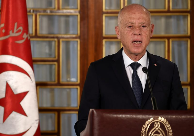 """الرئيس التونسي قيس سعيد يعترف بتلقيه دعماً أمنياً ومالياً من دول """"شقيقة"""""""