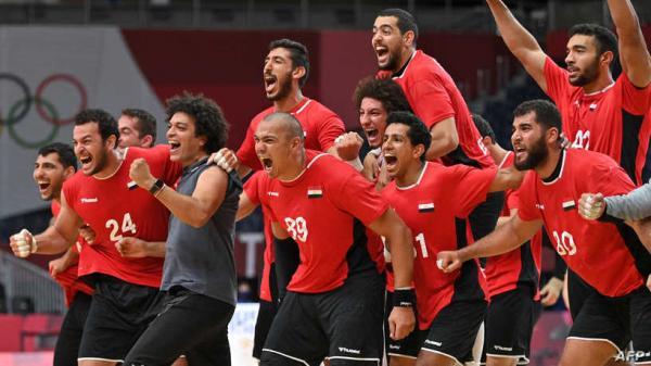 مصر أول منتخب عربي يبلغ نصف نهائي مسابقة كرة اليد في أولمبياد طوكيو