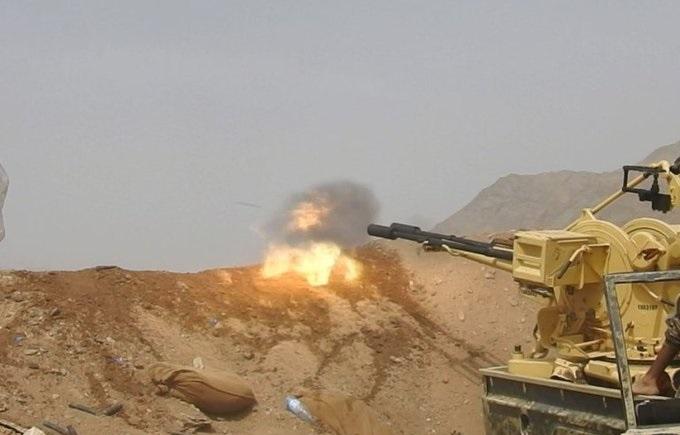 الجيش الوطني والمقاومة يخوضون معارك مستمرة ضد مليشيا الحوثي ويدحرونهم من عدة مواقع في جبهات جنوب مأرب