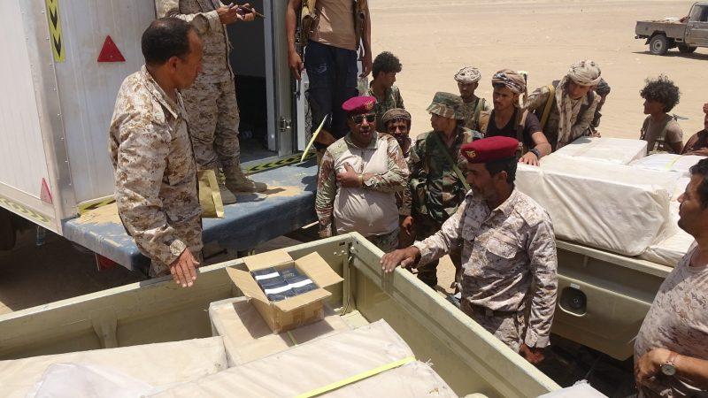 ضبط شاحنة تحوي أكثر من 20 ألف جواز في الجوف كانت في طريقها إلى مليشيا الحوثي