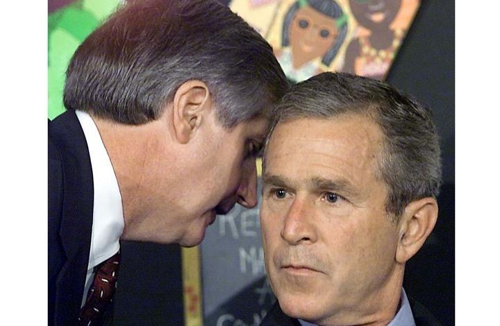"""كبير موظفي البيت الابيض أبلغ بوش بوقوع هجمات """"سبتمبر"""" يكشف كواليس مثيرة"""