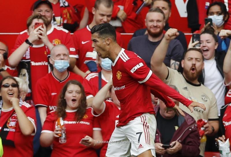 رونالدو يبدأ بقوة أول مباراة مع مانشستر يونايتد ويسجل هدفين ضد نيوكاسل