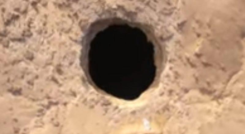 """لكشف اللغز المحيط به.. فريق عماني يستكشف """"بئر برهوت"""" في المهرة"""