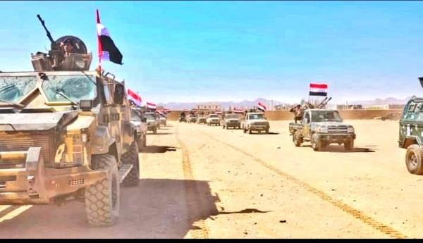 الجيش والمقاومة يستعيدا مواقع شمال شرقي أبين وتعزيزات عسكرية تصل إلى المنطقة