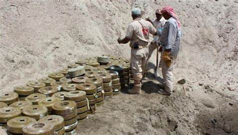 لجنة حقوقية توثق مقتل وإصابة 910 شخص بالغام مليشيا الحوثي في الجوف