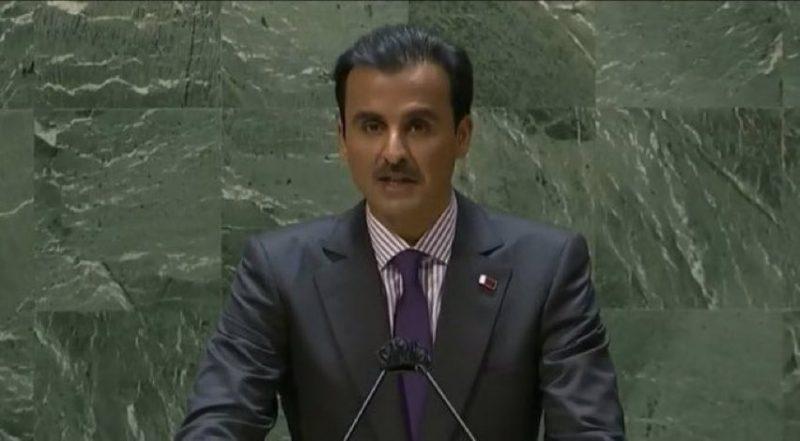 أمير قطر: هذا هو السبيل الوحيد للخروج من الأزمة اليمنية
