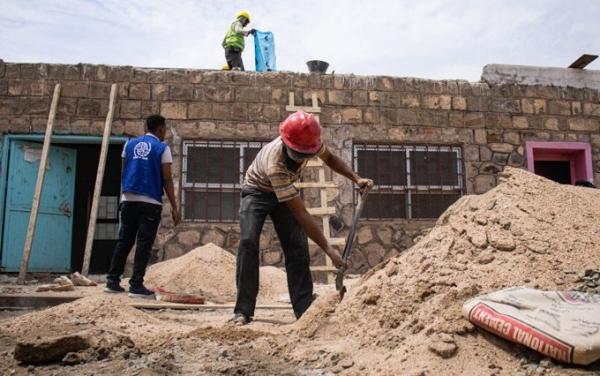 الهجرة الدولية تعلن إعادة تأهيل وبناء 43 مدرسة في 3 محافظات يمنية