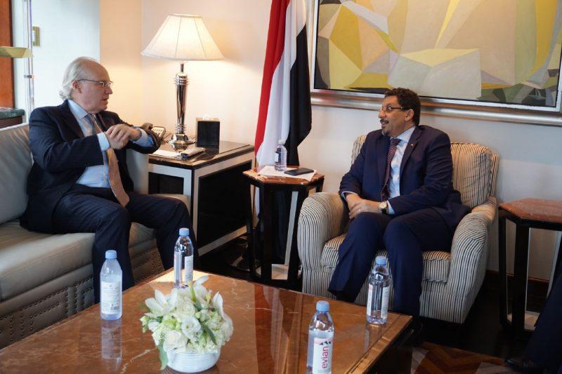 الحكومة تؤكد أن استعادة عملية السلام تبدأ بالضغط على مليشيا الحوثي لوقف عدوانها
