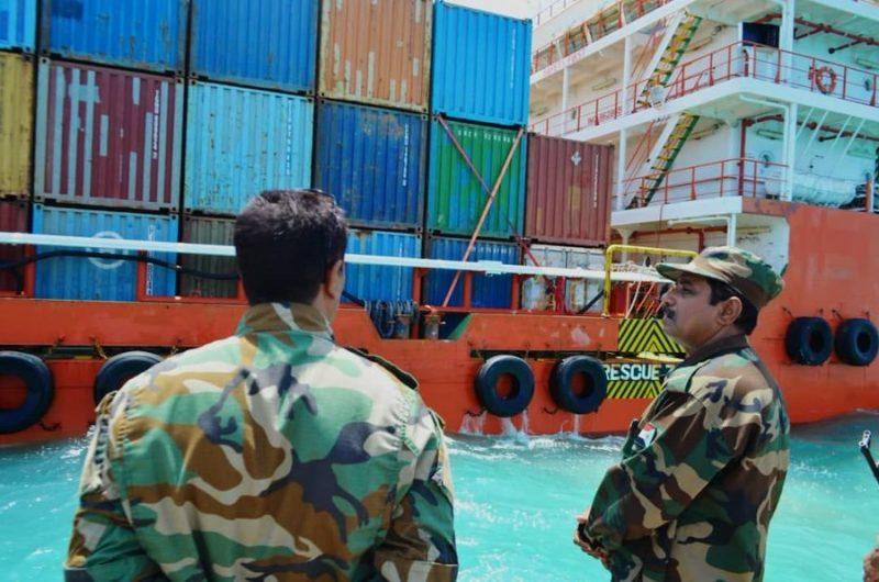 هام.. ميناء سقطرى يستقبل شحنة صواريخ وأسلحة نوعية تم نقلها بسرية تامة