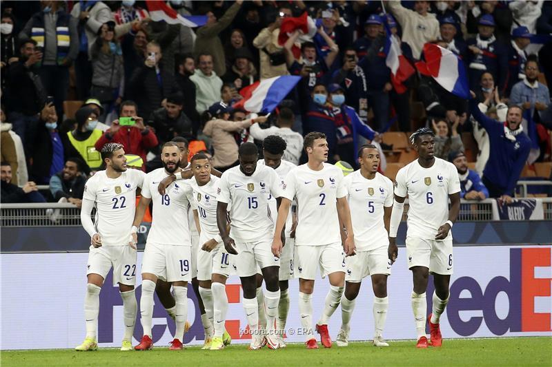 ريمونتادا بنزيما ومبابي تمنح منتخب فرنسا لقب بطولة دوري الأمم الأوروبية