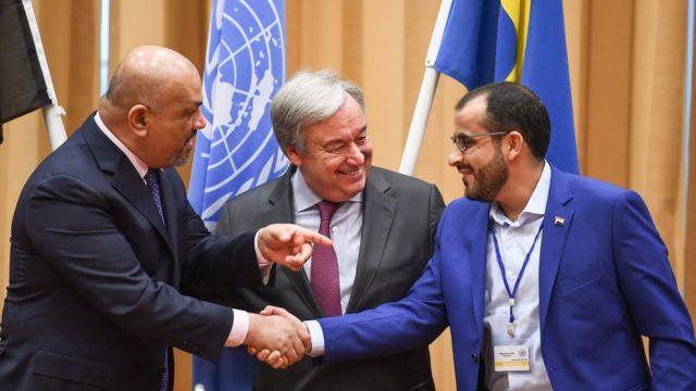 برلمانيون يطالبون من الرئيس هادي وقف العمل والغاء اتفاق ستوكهولم